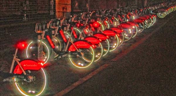 Boris bikes! by KrazyKA