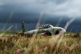 Abandoned T-33