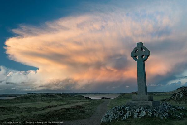 Llanddwyn Storm by AntHolloway