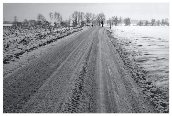 winter walk by bliba