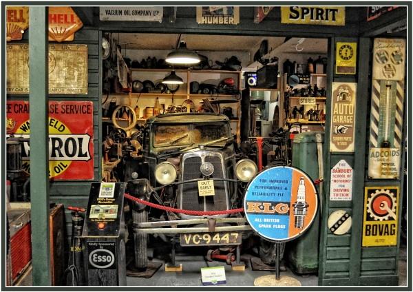 1930\'s Garage Recreation by PhilT2
