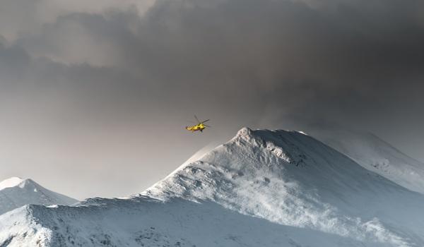 Winter Mountain Scene. by Mike43