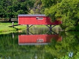Landscape #7  Lancaster County Covered Bridge