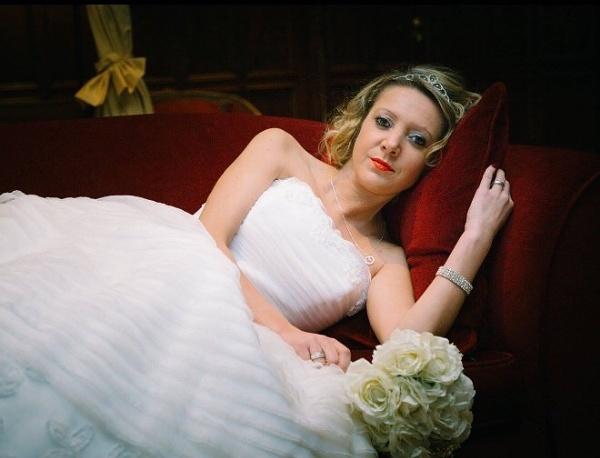 Reclining Bride by Arjay999