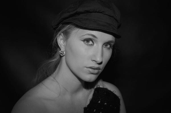 Blonde Beauty in Darkness by DennisBloodnok