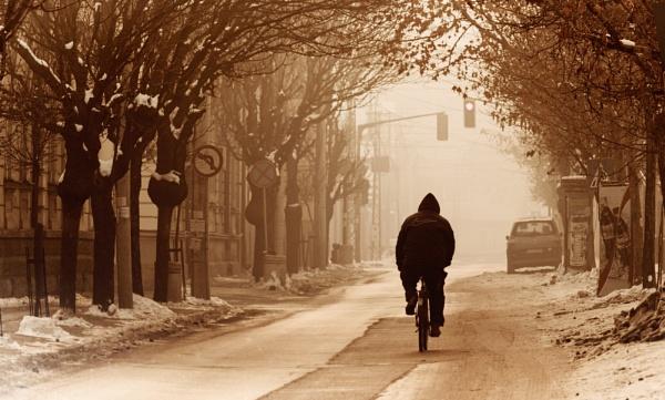 Winter in the city XXII by MileJanjic