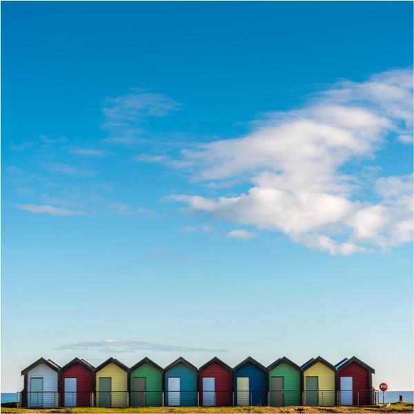 Beach Huts by GaryDHiggins