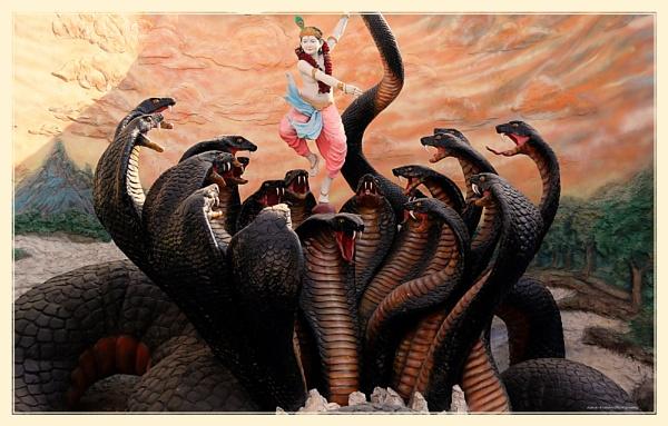 Kalinga Mardhana by Lord Krishna by ashokynk