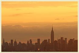 *** Manhattan Skyline at Sunset ***