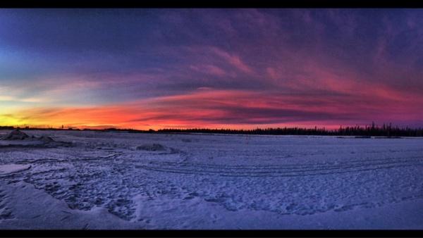 Northern Alberta winter sunrise by StevePushman
