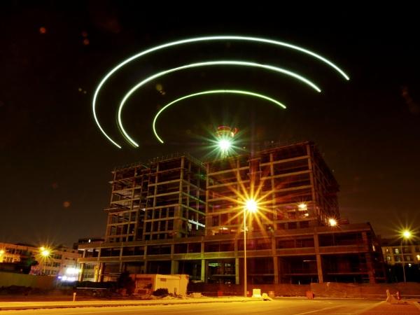 Aliens above