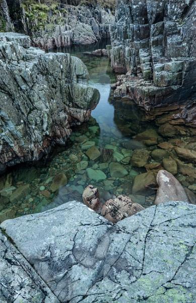 Glen Etive gorge by Bigpoolman