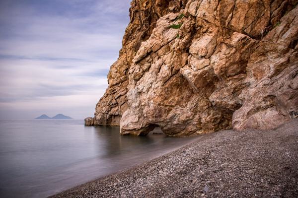 Winter Sea in Sicily by Catest79