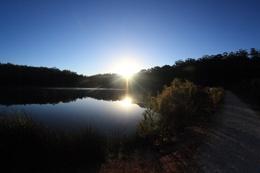 Sunrise over the lake- Karri Valley Western Australia