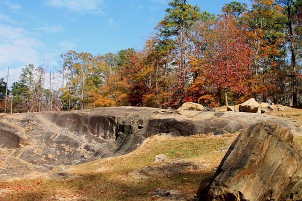 The Rocks at Flat Rock Park by ThomasVasasPhotography