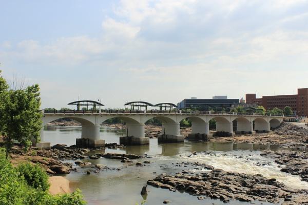 Columbus Georgia Walking Bridge by ThomasVasasPhotography