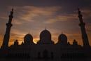 Sunset at Sheikh Zayed Grand Mosque, Abu Dhabi
