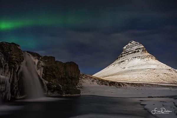 Aurora over Kirkjufell by FranJ