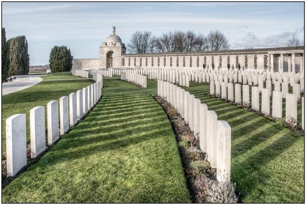 Tyne Cot Cemetery by TrevBatWCC