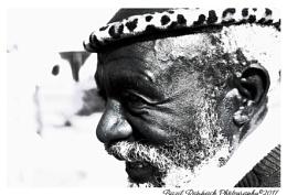 Shembe priest in the Rural Transkei