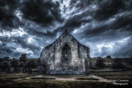 Deserted Church of Wharram Percy