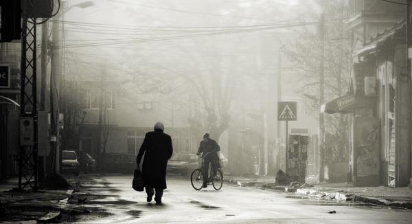 Urban Scene LVIII by MileJanjic