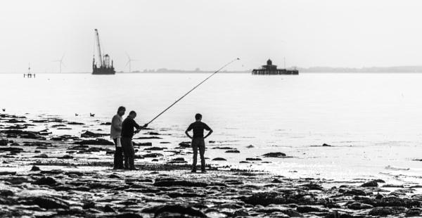 fishing by mogobiker