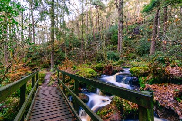 Wyming Brook bridge by JamesBarson