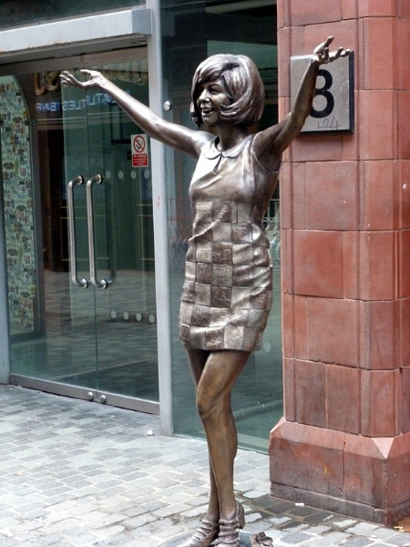 Cilla Black, Cavern Quarter, Liverpool by Don20