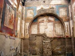 Roman house in Herculaneum, Italy