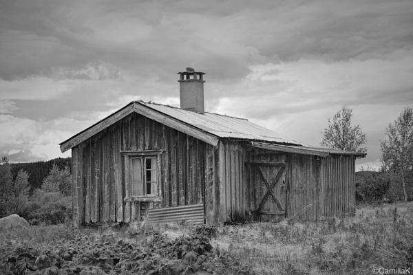 Old mountain farm