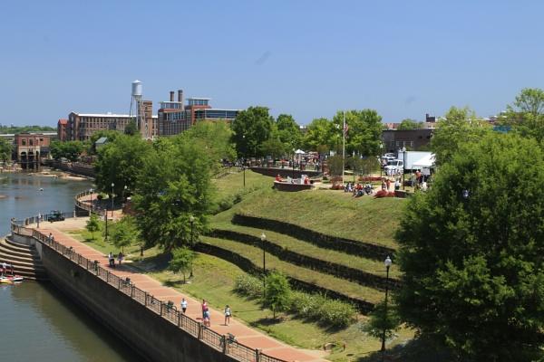 Columbus Georgia and River Walk by ThomasVasasPhotography