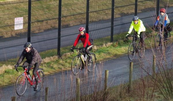 Sunday morning cyclists by Kako