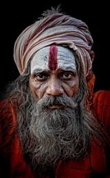 Sadhu in Haridwar