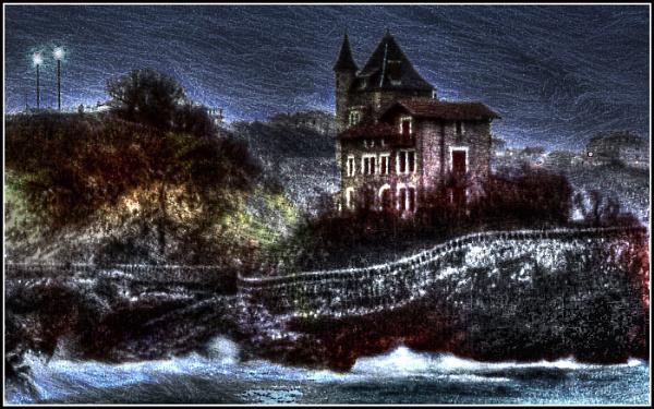 Villa Belza, Biarritz by jcolind