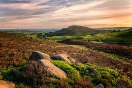 Moorlands sunset