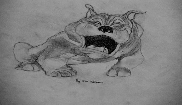 Bulldog by sparrowhawk
