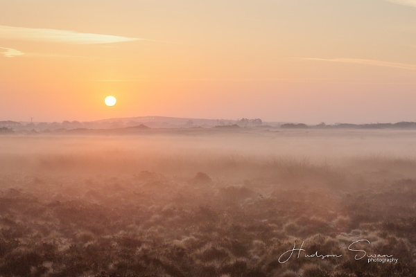 Sunrise on Goonhilly Downs by sunsetskydancer
