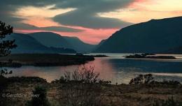 Glenveagh Winter Sunset