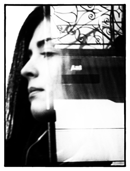 PORTRAIT FROM A BUS WINDOW by hobbo