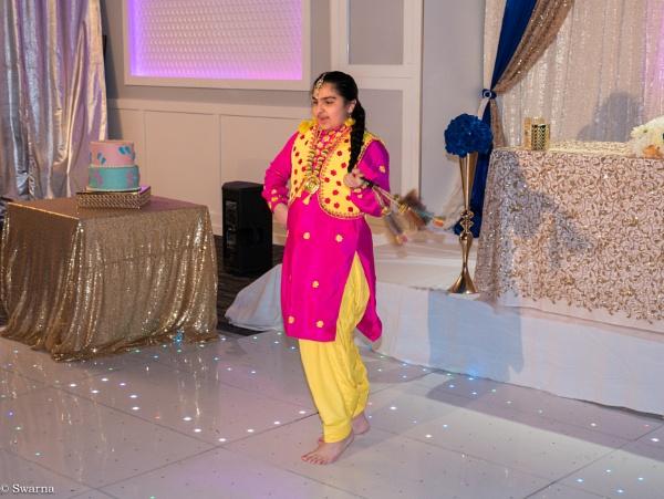 The Dancer by Swarnadip