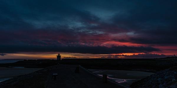 Burry Port Sunset by daibev