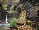 Landscape #13 The Gorge at Watkins Glen #4 by handlerstudio