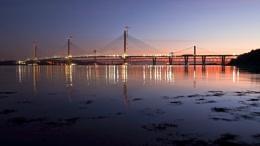 Photo : Forth Bridges At Dawn