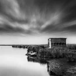 Fisherman's Hut and Boat