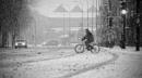 Winter in the city XXIV by MileJanjic