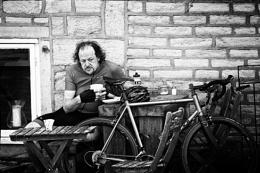 Pensive Cyclist