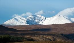 Photo : An Teallach from Dirrie Moor