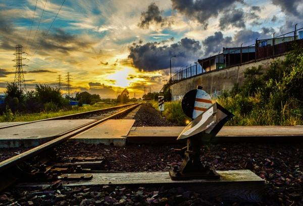 old train tracks by mogobiker