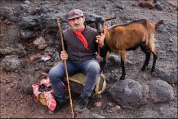 Shepherd and Goat